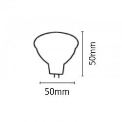 InLight MR16 3X1watt Dimmable 6500Κ Ψυχρό Λευκό (7.16.03.03.3DIM)