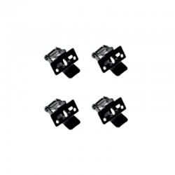 InLight Μεταλλικά στηρίγματα για LED Panel 4τεμ (BAPAN004)
