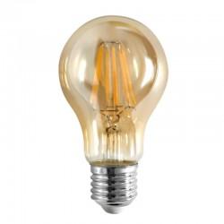 InLight E27 LED Filament A60 8watt Dimmable με μελί κάλυμμα (7.27.08.23.1)