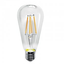 InLight E27 LED Filament ST64 8watt Dimmable (7.27.08.19.1)