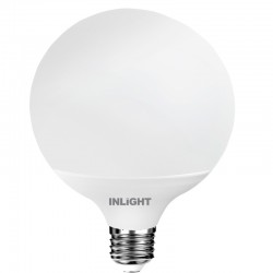 InLight E27 LED G120 18,5watt 4000K Φυσικό Λευκό (7.27.18.14.2)