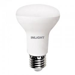 InLight E27 LED R63 8watt 3000Κ Θερμό Λευκό (7.27.08.08.1)