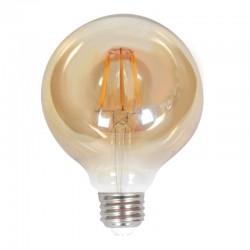 InLight Ε27 LED Filament G125 10watt με μελί κάλυμμα (7.27.10.28.1)