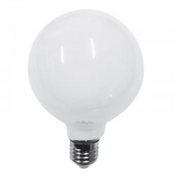 InLight Ε27 LED Filament G95 8watt με γαλακτερό κάλυμμα (7.27.08.36.1)