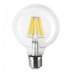 InLight Ε27 LED Filament G80 8watt (7.27.08.39.1)