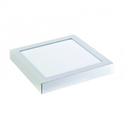 InLight LED Mounted Panel 20watt Τετράγωνο 3000K Θερμό Λευκό (2.20.03.1)