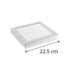 InLight LED Mounted Panel 20watt Τετράγωνο 4000Κ Φυσικό Λευκό (2.20.03.2)
