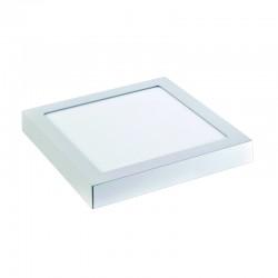 InLight LED Mounted Panel 24watt Τετράγωνο 4000Κ Φυσικό Λευκό (2.24.03.2)