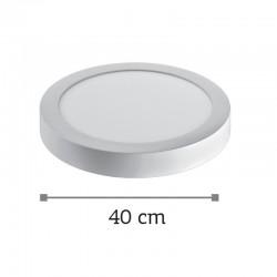 InLight LED Mounted Panel 30watt Στρογγυλό 4000Κ Φυσικό Λευκό (2.30.04.2)