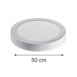 InLight LED Mounted Panel 36watt Στρογγυλό 4000Κ Φυσικό Λευκό (2.36.04.2)