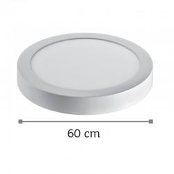 InLight LED Mounted Panel 48watt Στρογγυλό 4000Κ Φυσικό Λευκό (2.48.04.2)