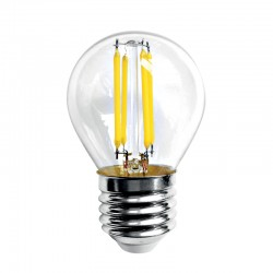 InLight E27 LED Filament G45 5watt Φυσικό Λευκό  (7.27.05.13.2)