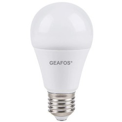 Λάμπα LED Α60 9W E27 3000Κ με φωτοκύτταρο