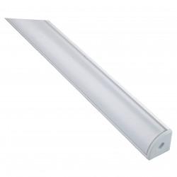 Προφίλ αλουμ. γωνιακό + κάλυμμα Διπλό (2m)