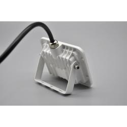 Προβολέας LED 10W SMD 3000K Slim Λευκός
