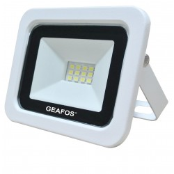 Προβολέας LED 10W SMD 6000K Slim Λευκός