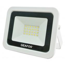 Προβολέας LED 20W SMD 3000K Slim Λευκός